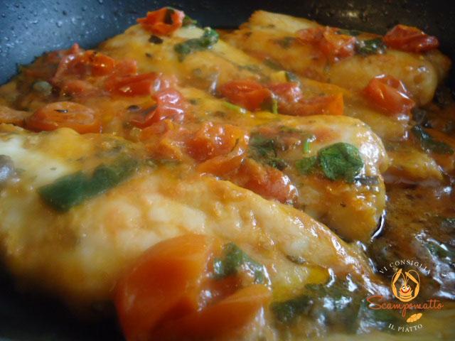 filetti di merluzzo alla pizzaiola - scampomatto - Cucinare Filetto Di Merluzzo