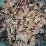 Focaccia con ricotta e spinaci-fase5
