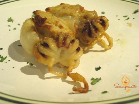 Seppie al forno con crosta al parmigiano