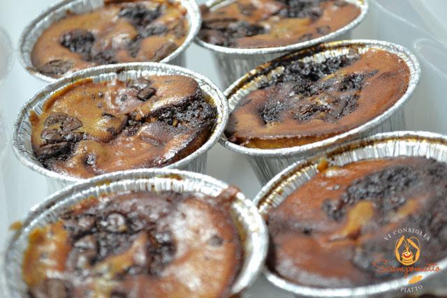 Tortino di ricotta e cioccolato fondente al San Marzano Borsci