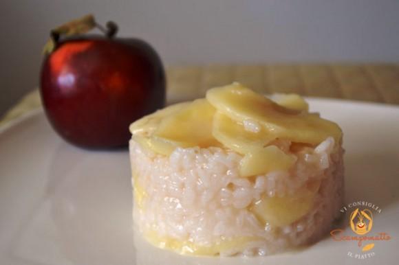 Risotto al Melarosa con le mele