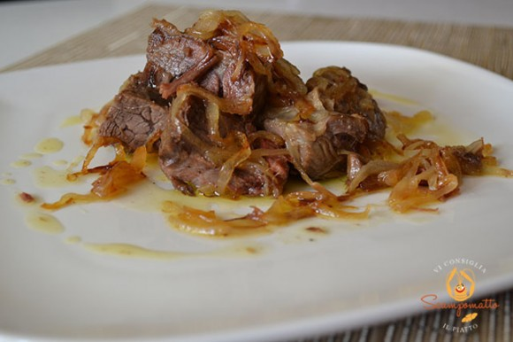 Bollito di vitello in agrodolce