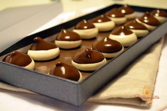 Meringhe al cioccolato