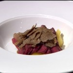 """Cristina Bowerman - """"Cuore di vitella con purea di patate e salsa di caffè"""""""