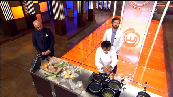 Barbieri si mette in gioco scampomatto for Masterchef gioco