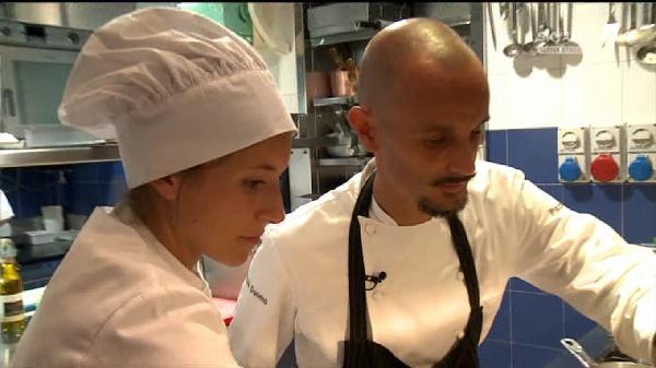 Sfida in Esterna - Enrica e Chef Crippa