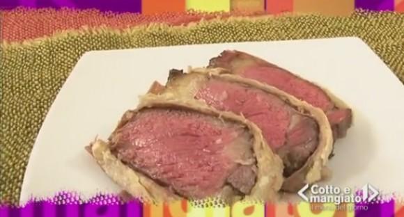 Roast beef in crosta
