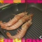 Vellutata di patate con zafferano e gamberi