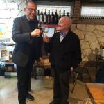 con Giuseppe Coffele (a destra)