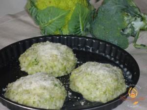 Cupolette di riso alle tre verdure