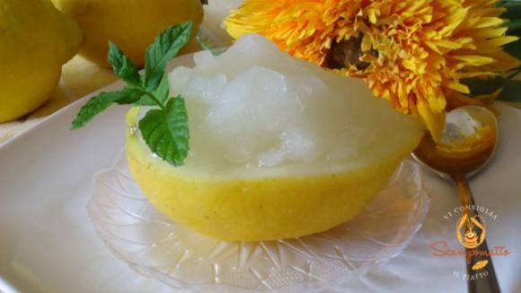 Sorbetto al limone (velocissimo)