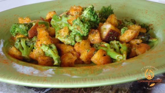 Broccoli alla paprika croccanti